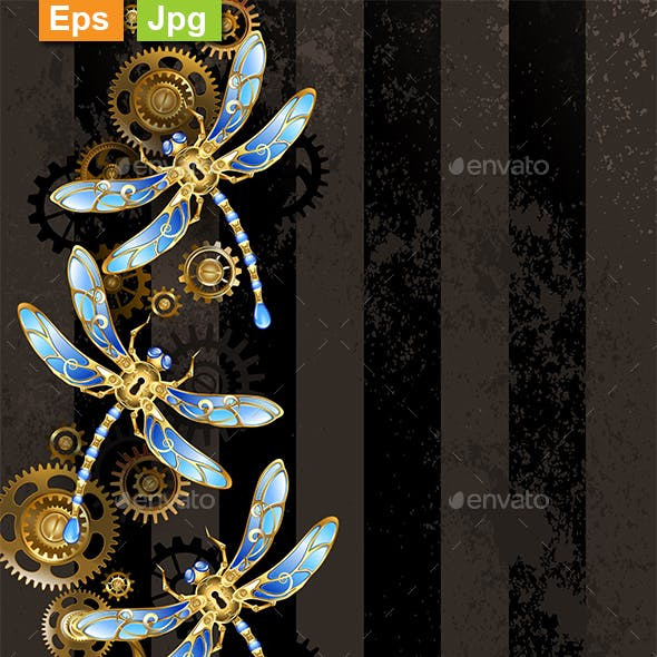 Design with Mechanical Dragonflies