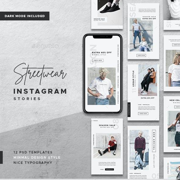 Streetwear Instagram Stories