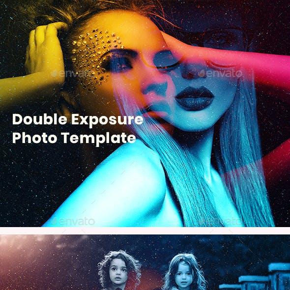 Double Exposure Photoshop Photo Template