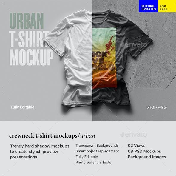 Urban T Shirt Mockup