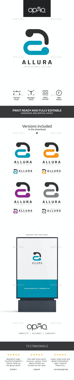 Simple A Letter Logo - Letters Logo Templates