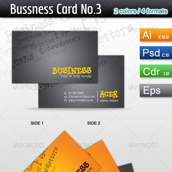 Bussness Card No.3