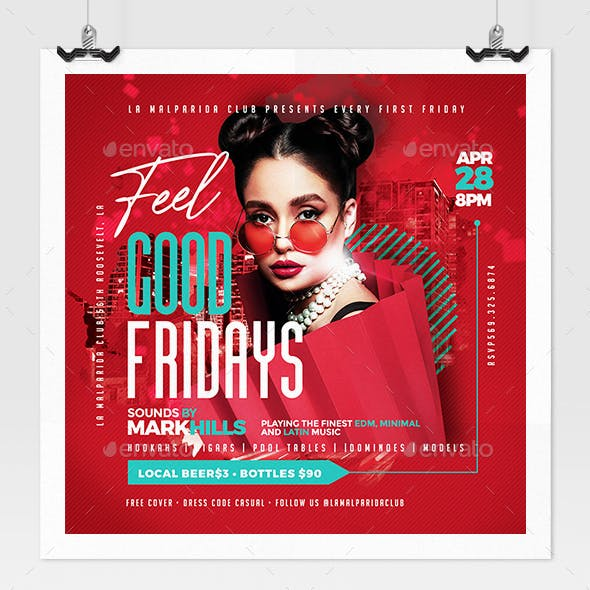 Feel Good Fridays Flyer