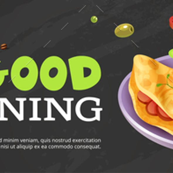 Good Morning Ad Poster