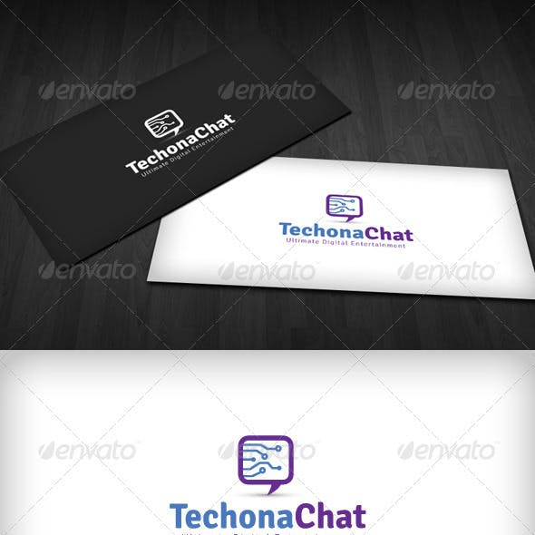 Techno Chat Logo