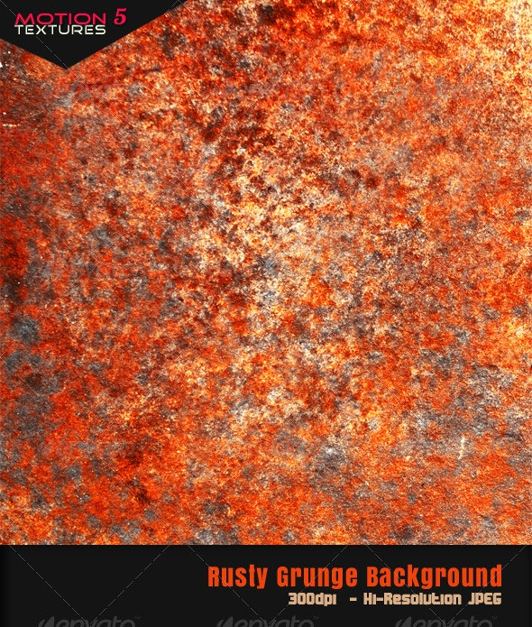 Rusty Background - Industrial / Grunge Textures
