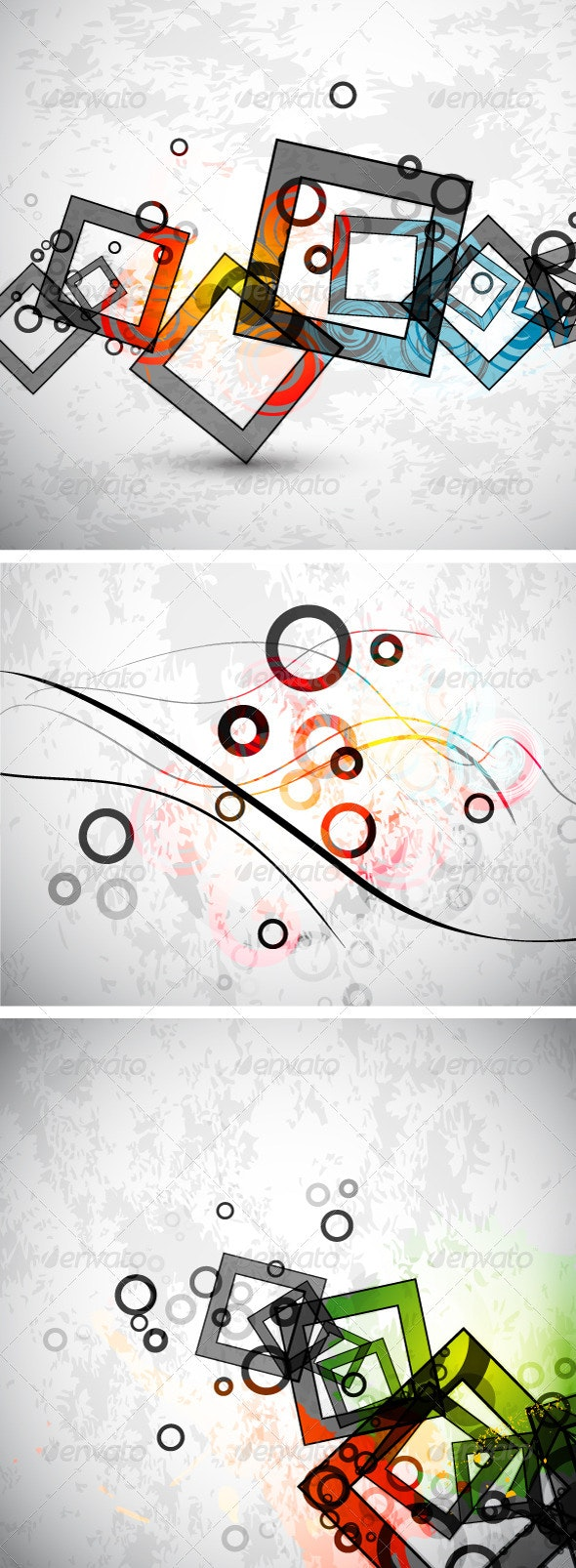 Abstract Grunge Backgrounds - Backgrounds Decorative