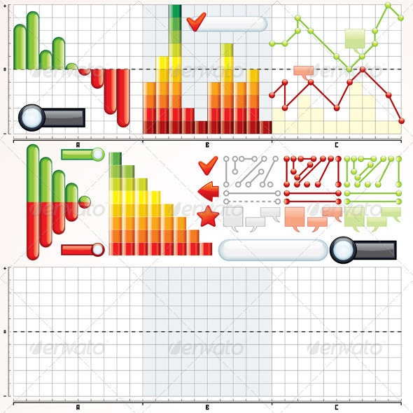 Business Graphs Collection - Infographics