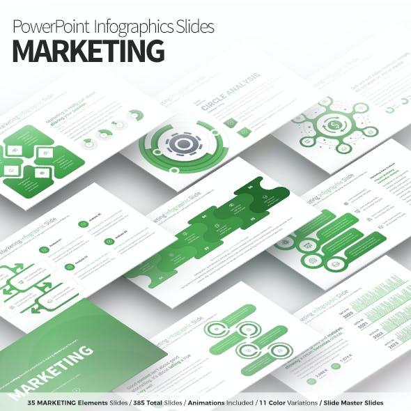 Marketing - PowerPoint Infographics Slides