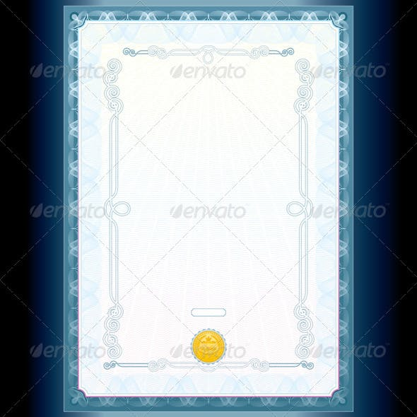 Classical Diploma Template