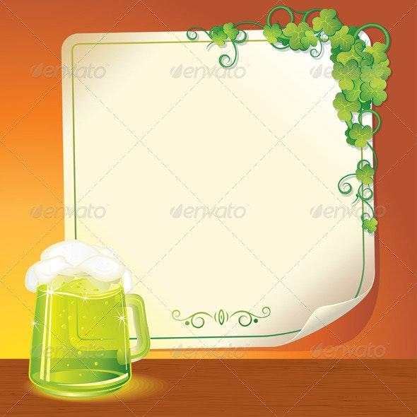 Green Ale - Seasons/Holidays Conceptual