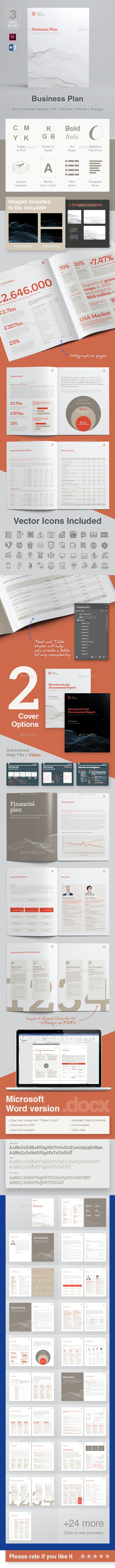 Business Plan 60 Pages - Informational Brochures