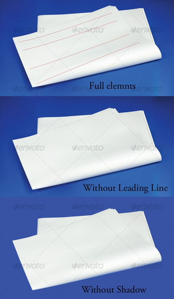 Blank Newspaper - Miscellaneous Conceptual