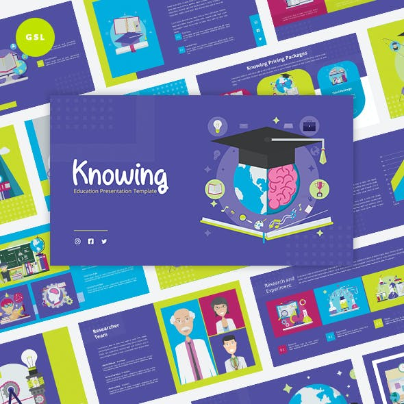 Knowing - Education Google Slides Template