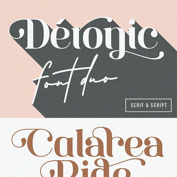 Deronic Font Duo