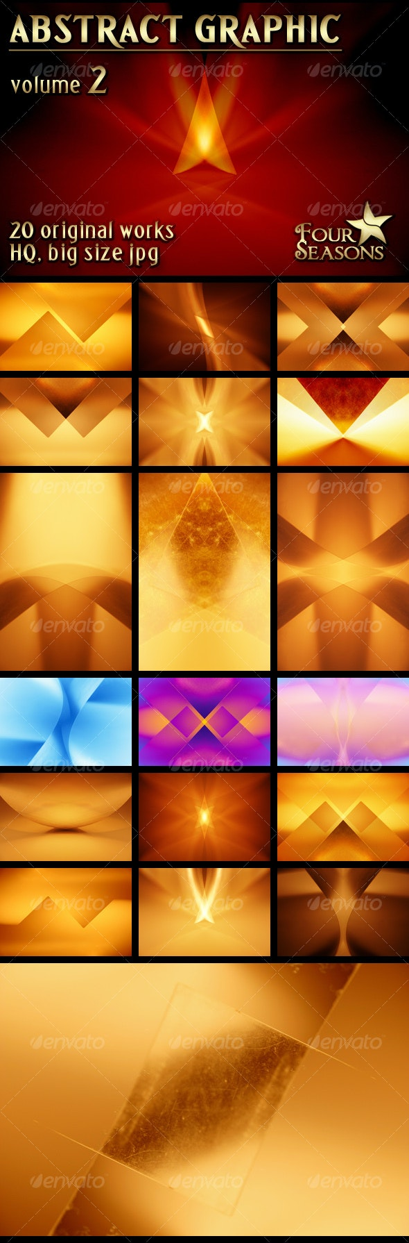 Abstract Graphic backgrounds, volume 2 - Abstract Backgrounds