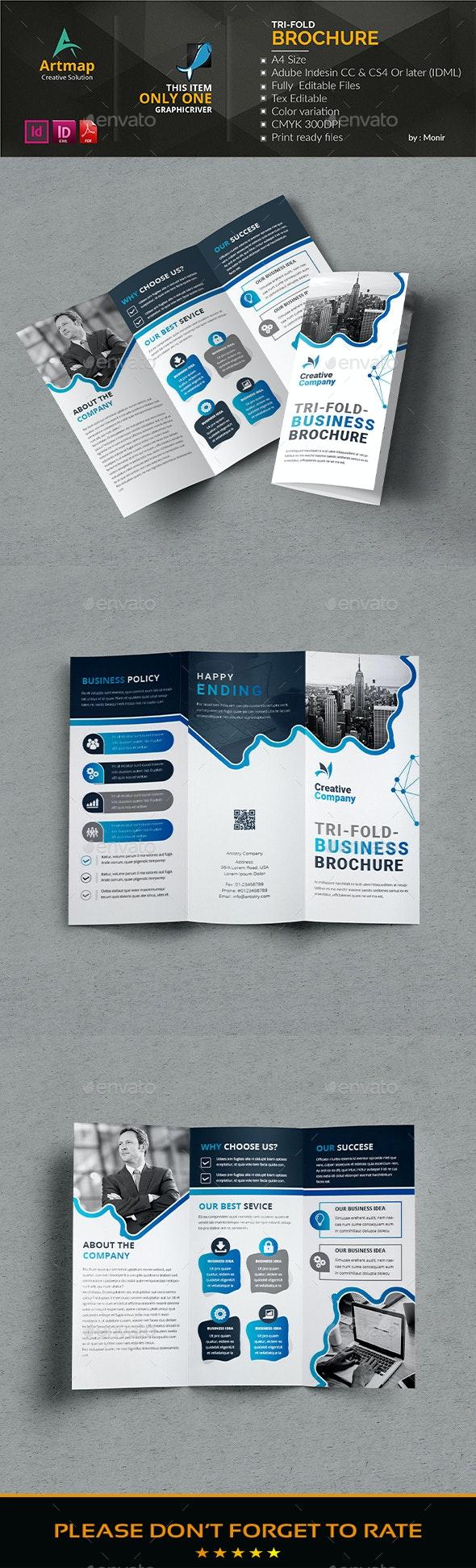 Tri_fold Brochure - Brochures Print Templates