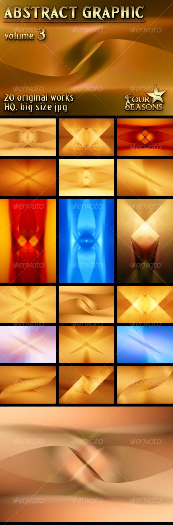 Abstract Graphic backgrounds, volume 3 - Abstract Backgrounds