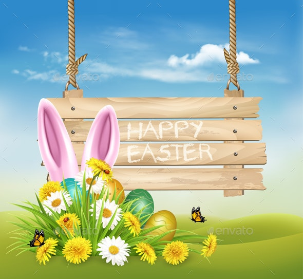 Easter Sale Background - Miscellaneous Seasons/Holidays