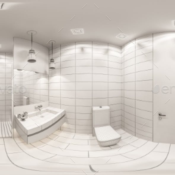 3D Render Spherical 360 Seamless Panorama of the