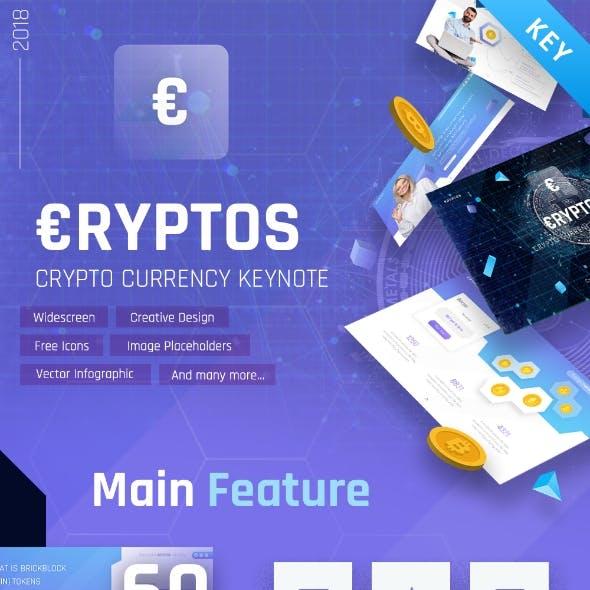 Cryptos - Crypto Currency Keynote Presentation Template