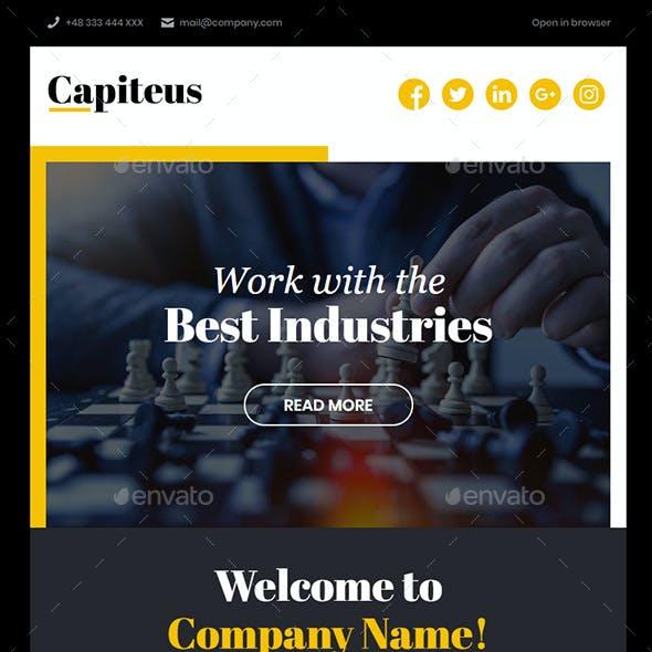 Capiteus - Multipurpose Email Template
