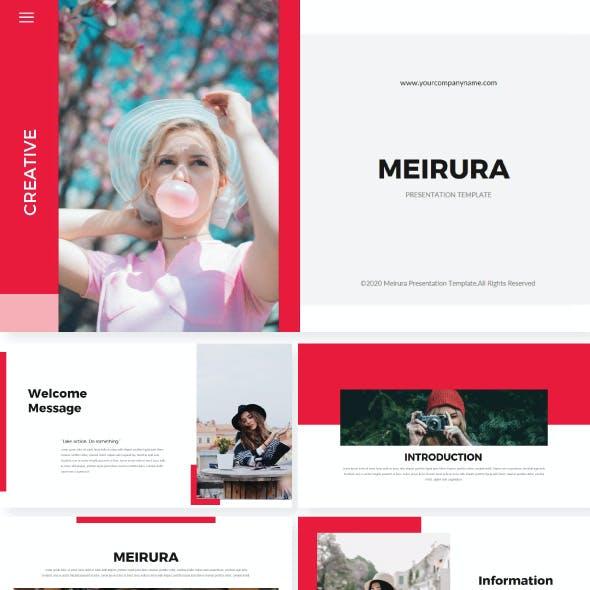 Meirura Keynote Template