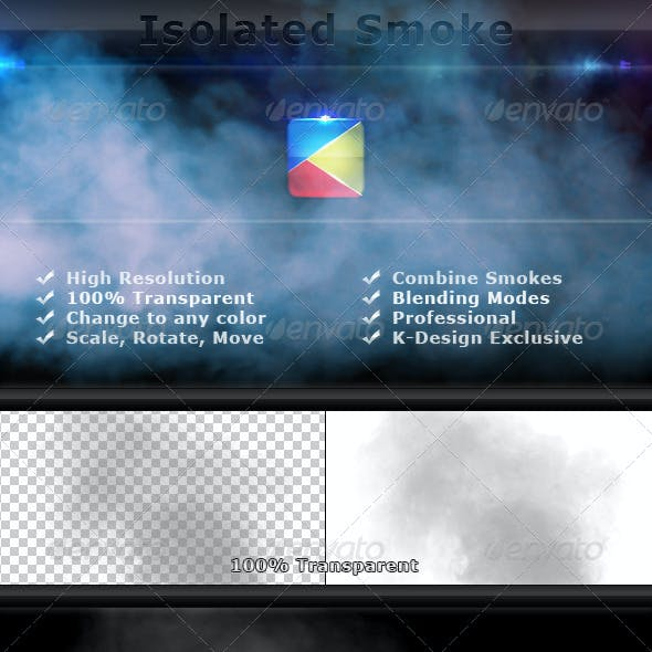 Isolated Smoke FX Elements