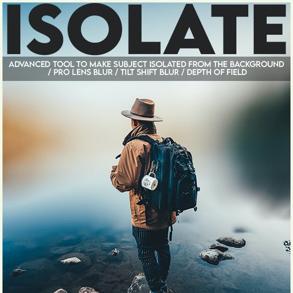 Isolate Photoshop Action