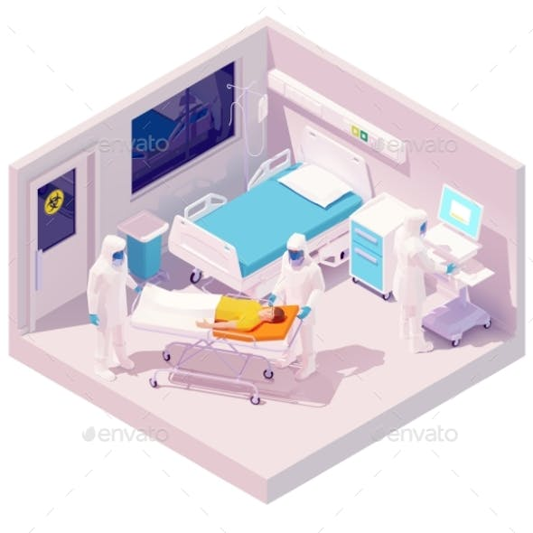Vector Isometric Hospitalization