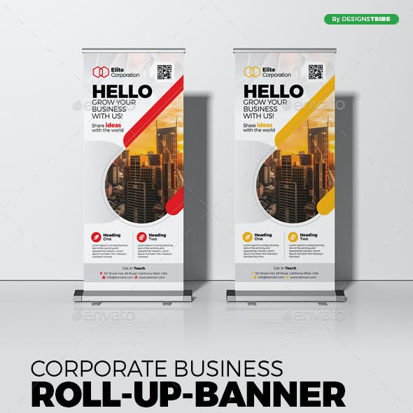 Roll Up Banner X Banner