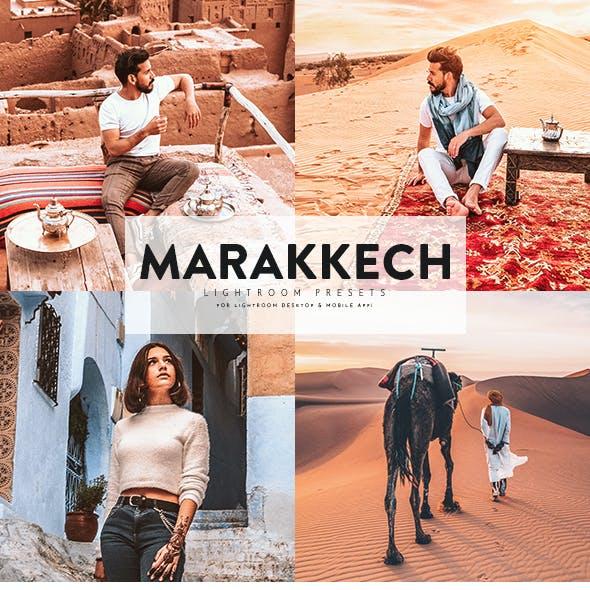 Marakkech Lightroom Presets For Mobile+Desktop