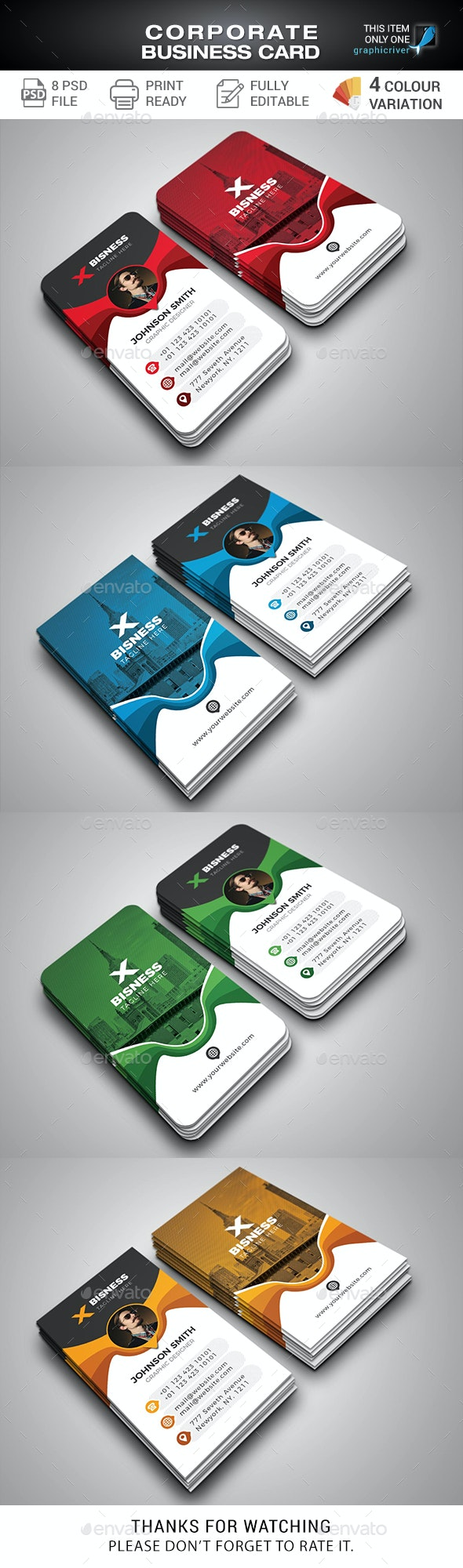 Business Cards - Corporate Business Cards