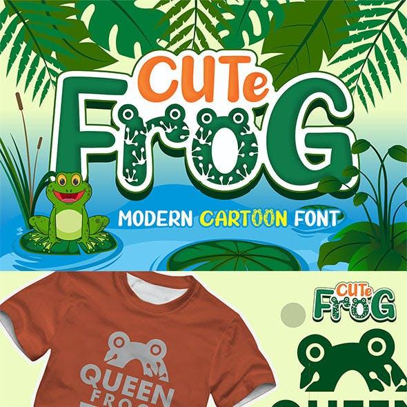 Cute Frog - Craf Font