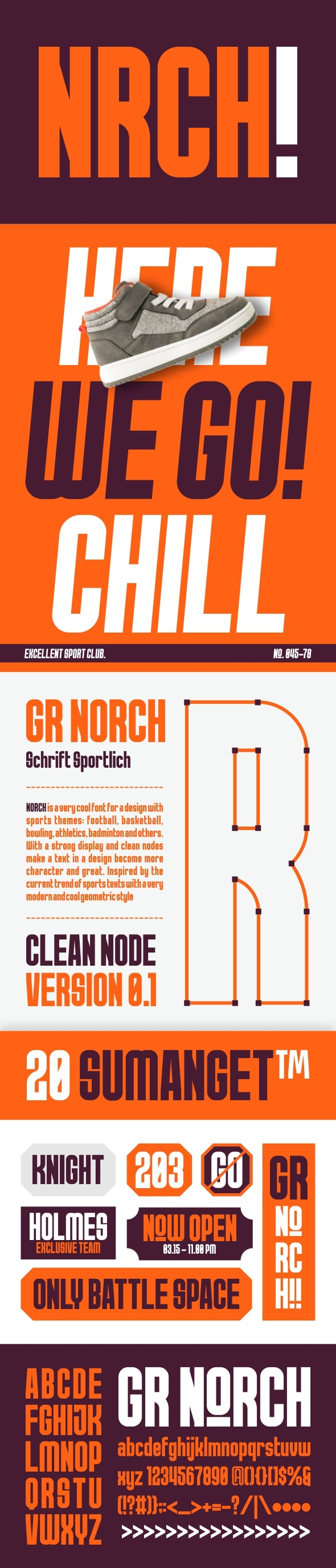 Norch - Sans-Serif Fonts