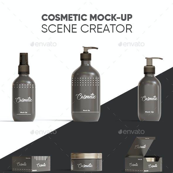 Cosmetic Mockup Scene Creator