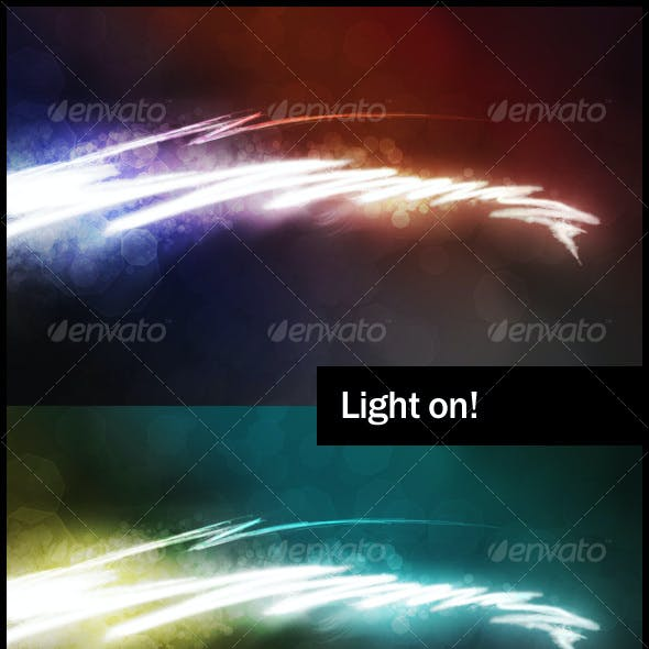 Light on! Backgrounds pack