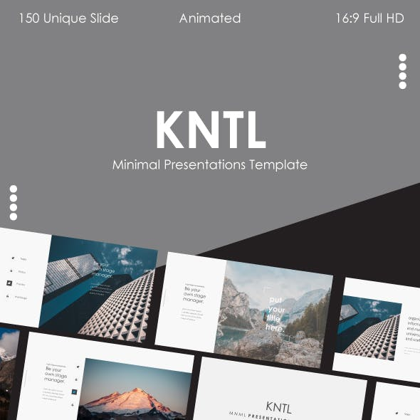 KNTL MNML – Clean Keynote Template