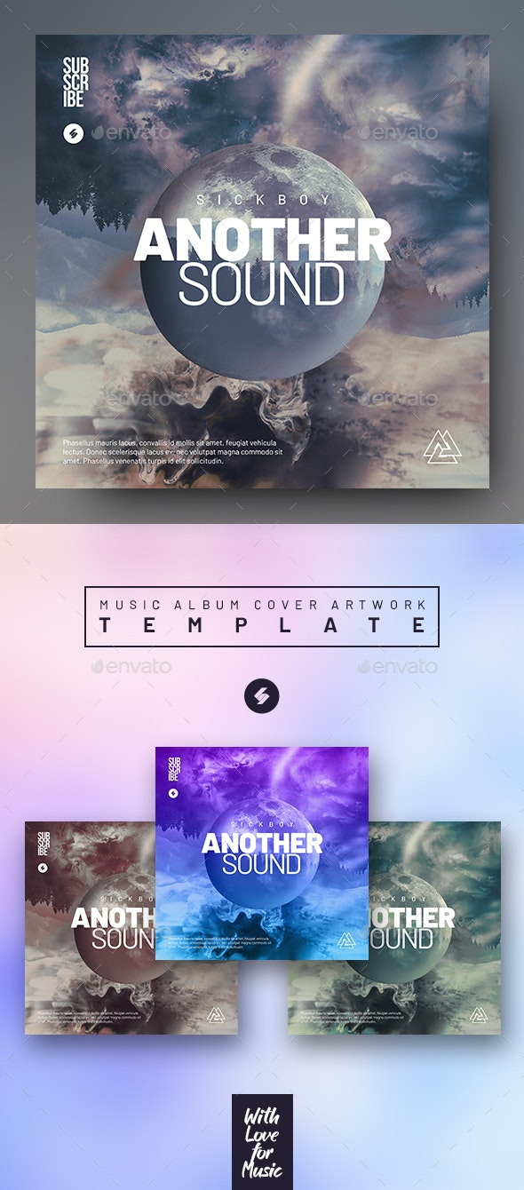 Another Sound - Music Album Cover Artwork Template - Miscellaneous Social Media
