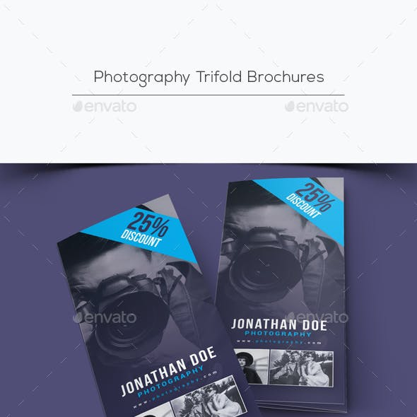 Photography Trifold Brochures