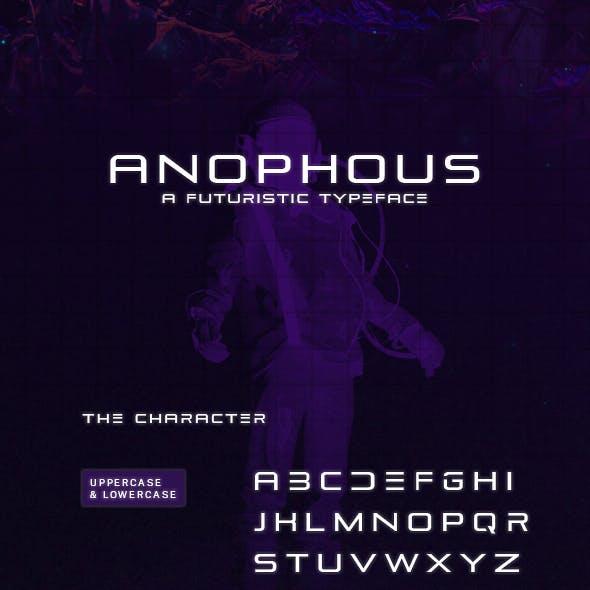 Anophous  Typeface