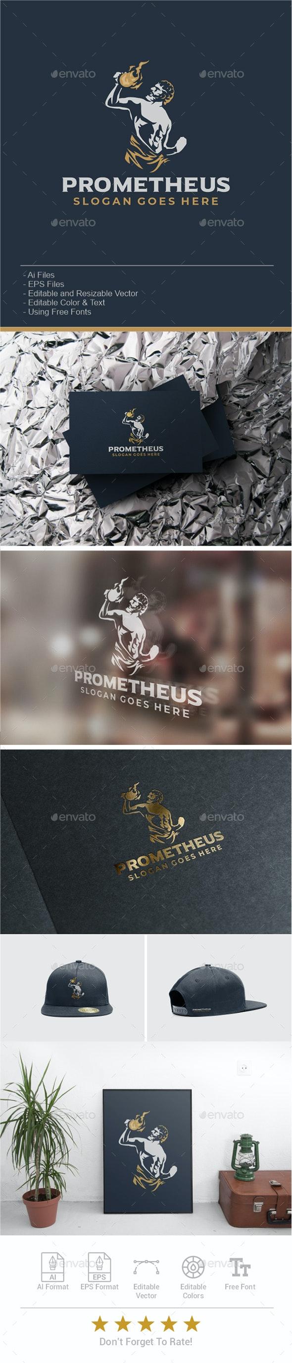 Prometheus Logo - Humans Logo Templates