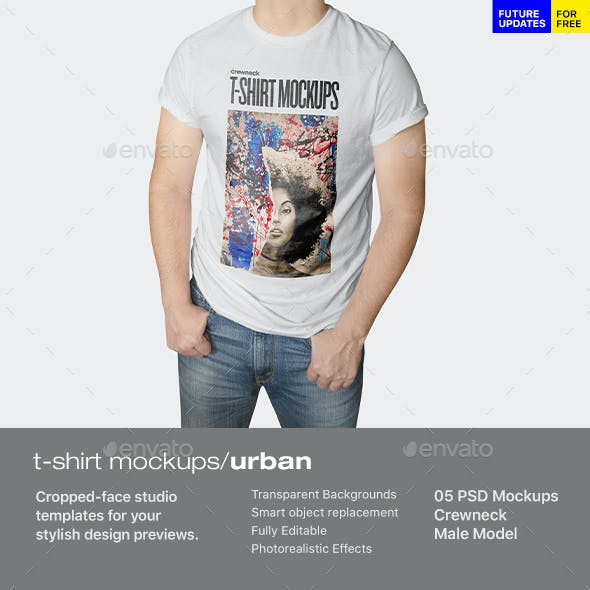 T-shirt Mockup Urban