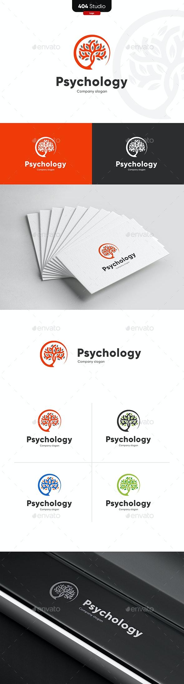 Psychology logo - Nature Logo Templates