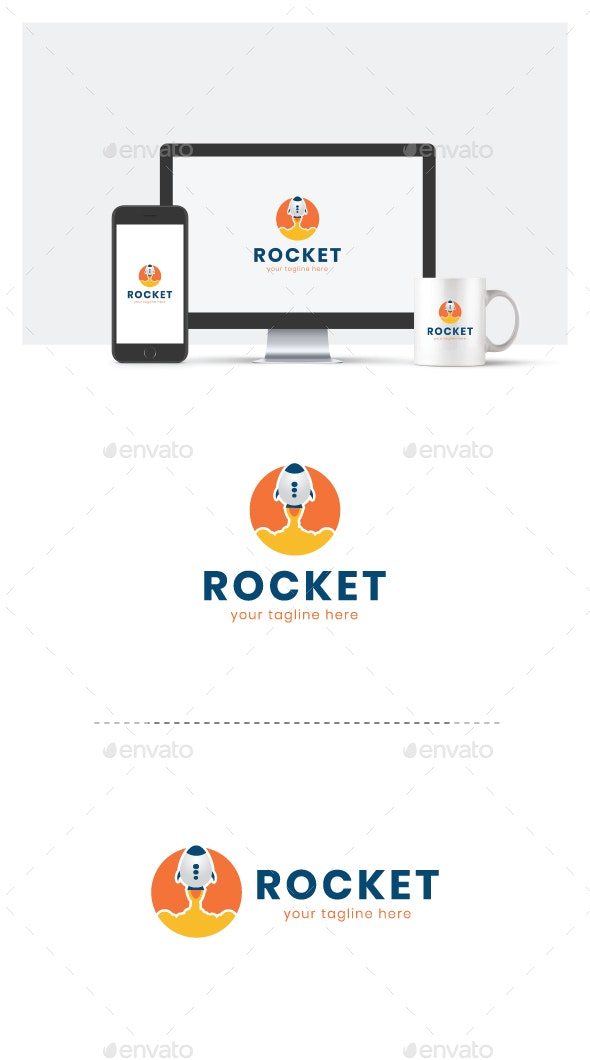 Rocket Logo Template - Objects Logo Templates