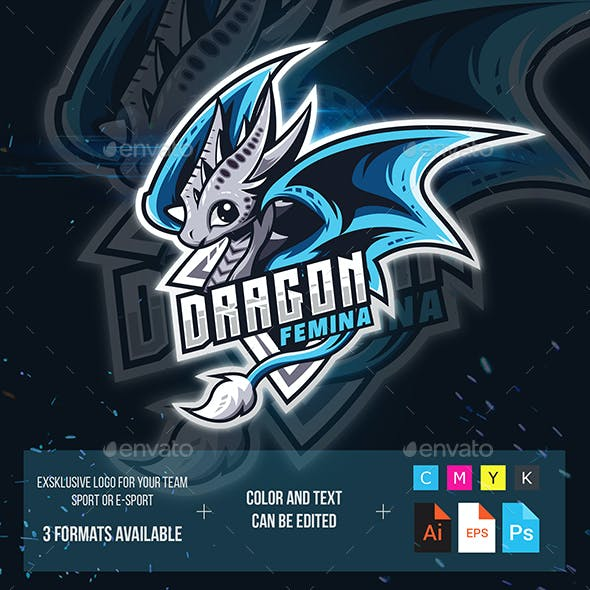 Blue Dragon Esport Logo