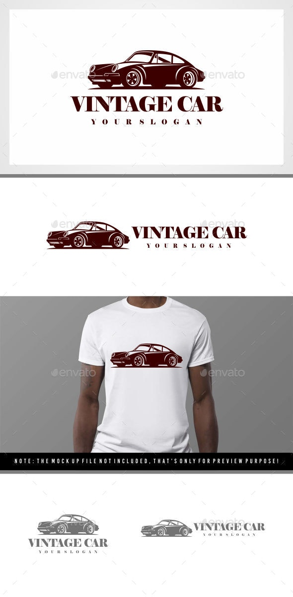 Vintage Car - Classic Car Logo - Sports Logo Templates