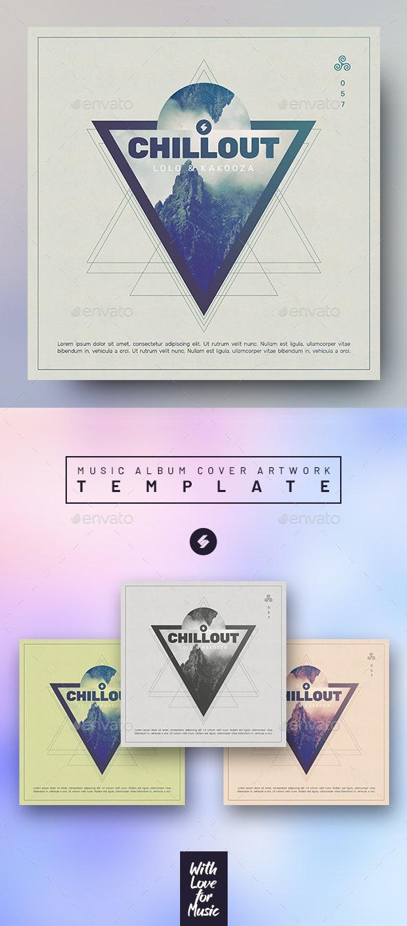 Chillout vol.4 - Music Album Cover Artwork Template - Miscellaneous Social Media
