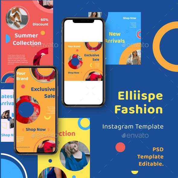 Ellipse Fashion Instagram Template