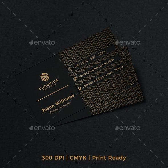 Corporate Business Card Elegant Design